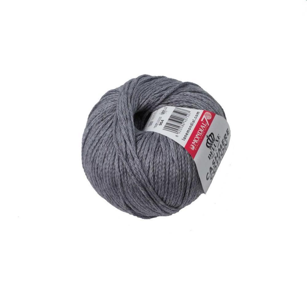 Modial Cashmere Cotton - Gris 964