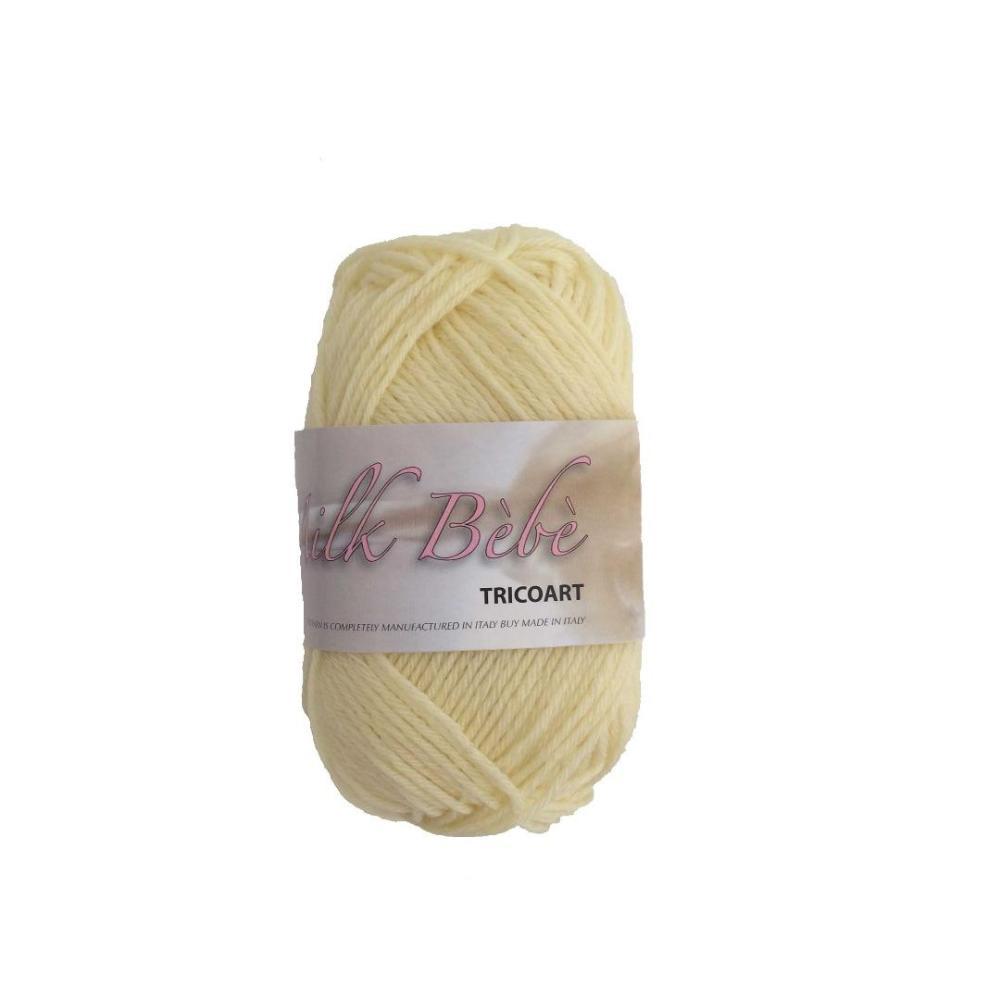 Tricoart - Milk Bebe Amarillo 05