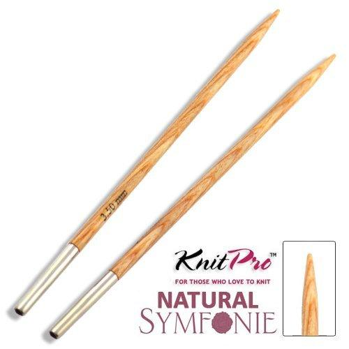 Knit Pro Natural Symfonie Wood Agujas Intercambiables