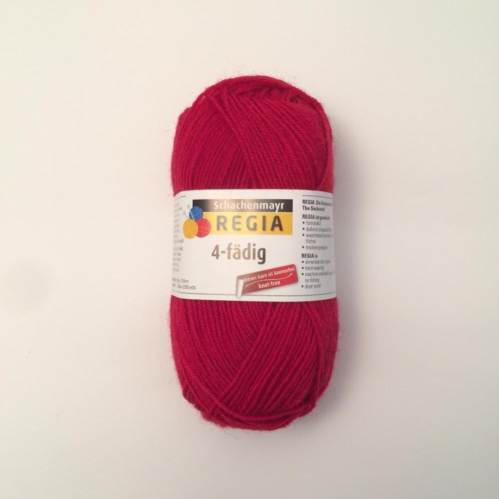 Regia 4 Fädig - Rojo02002