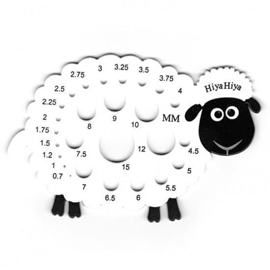 Hiya Hiya Calibrador agujas oveja
