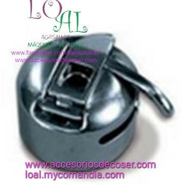 caja de bobina zig-zag, caja de bobina maquina de coser domestica, caja de bobina alfa, canillero maquina de coser
