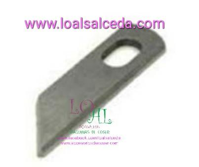 Cuchilla remalladora Alfa 8707, cuchilla Donna 700, cuchilla overlock