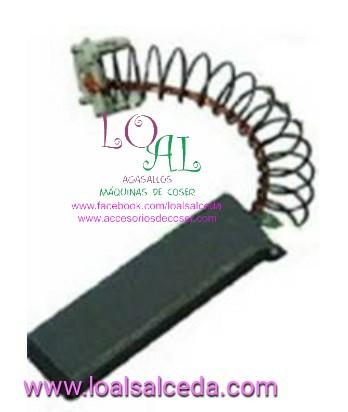 escobilla motor ion , escobilla motor maquina de coser , escobillas motor ion 1/10