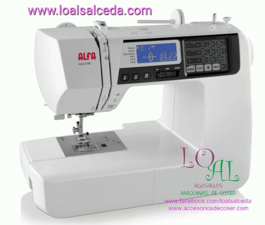 maquina de coser Alfa, alfa 2190, maquina de coser maestros de la costura, alfa