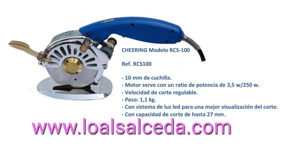 MAQUINA DE CORTE CHEERING RCS-100