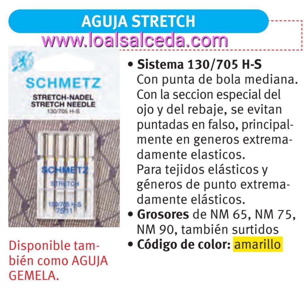 AGUJA DOMÉSTICA STRETCH 130/705 H-S