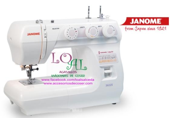 JANOME Maquina de coser Janome 3622S