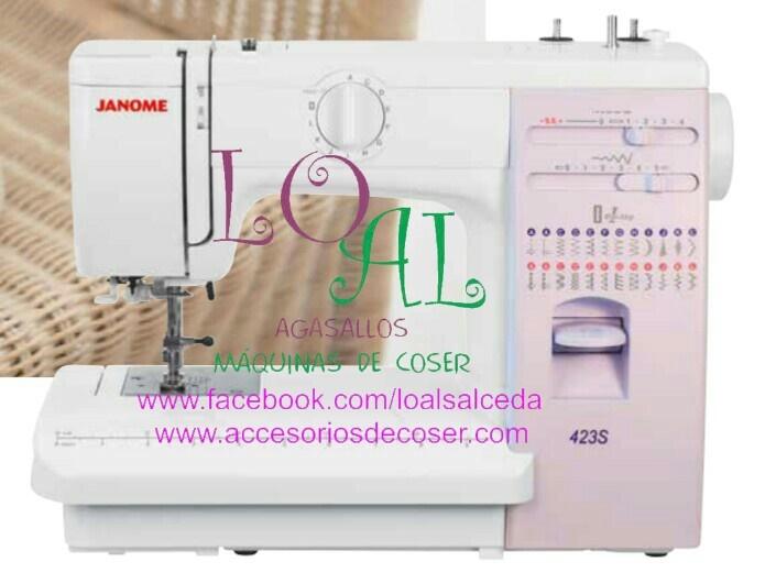 janome 423S maquina de coser