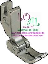 prensatelas puntas iguales para maquina de coser industrial