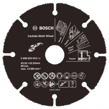 Bosch Disco Carburo Corte Madera