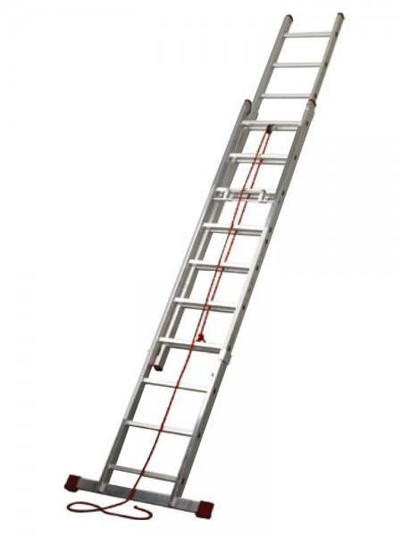 Cies Escalera Profesional 2 Tramos C/Cuerda