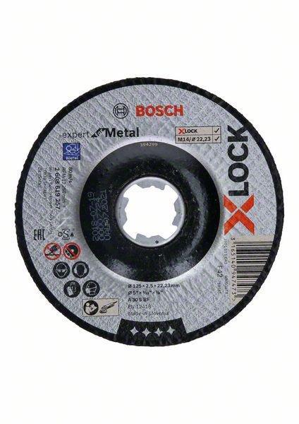 Bosch Disco Corte Metal XLock Expert