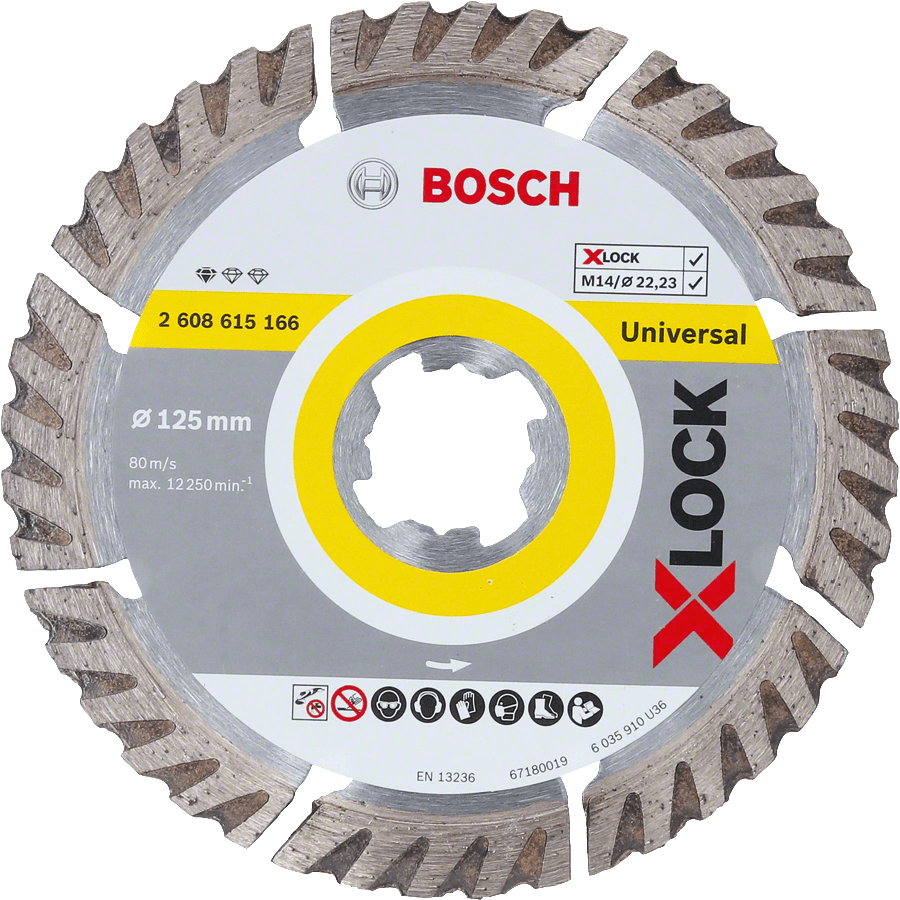 Bosch Disco Diamante Xlock Standar Universal