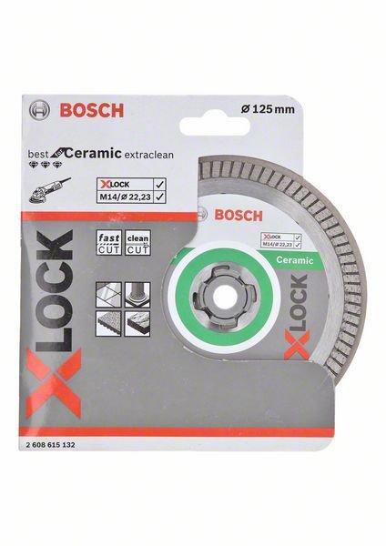 Bosch Disco Diamante Cerámica XLock