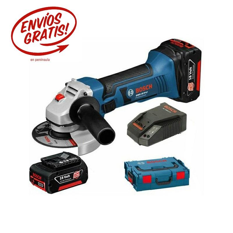 Bosch Amoladora GWS 18 ø125MM
