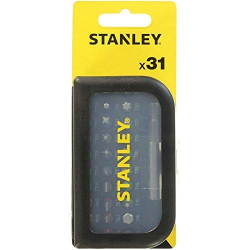 Stanley Estuche Puntas 31 Uds con Adaptador