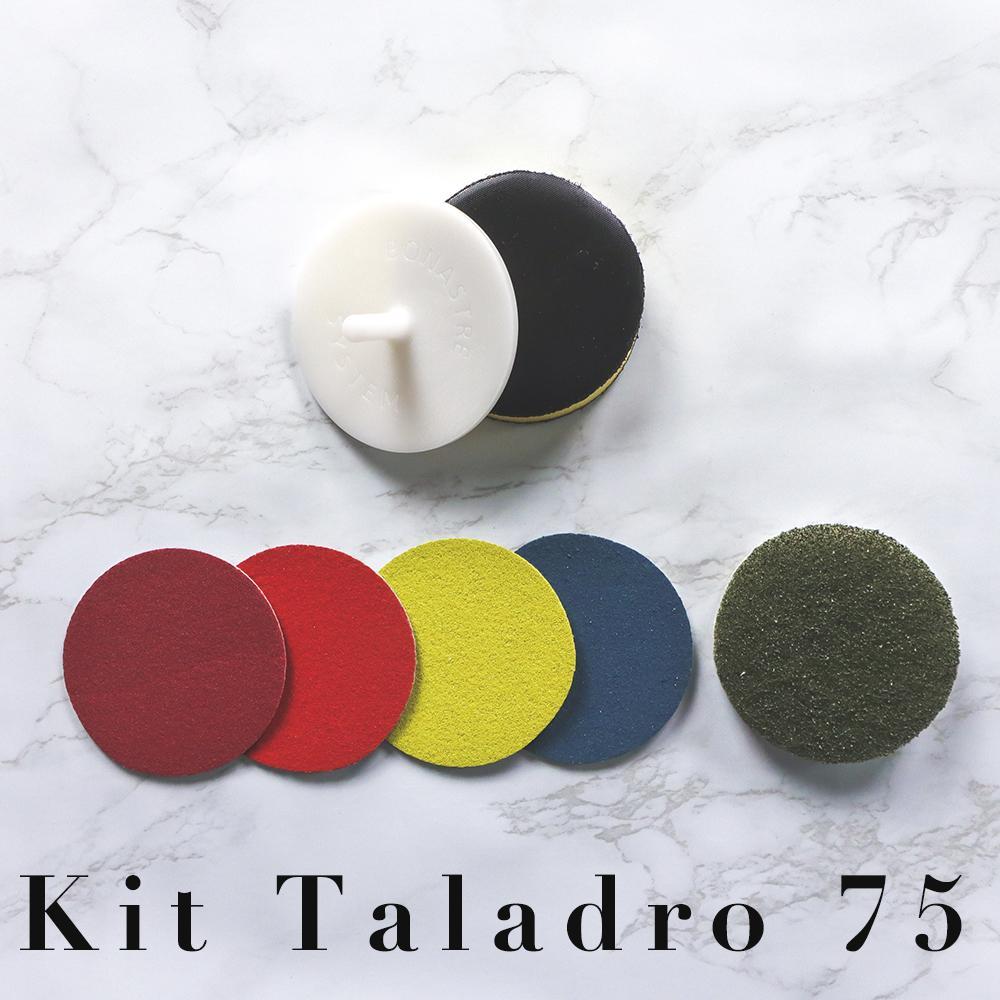 Kit Taladro 75 micropulido y Abrillantado