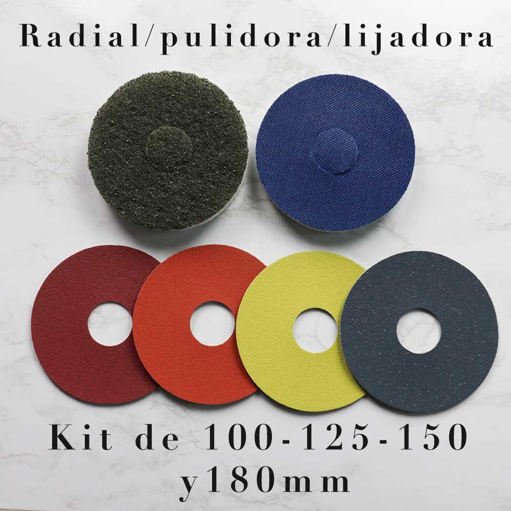 Kit Radial/Pulidora/lijadora micro pulido y abrillantado