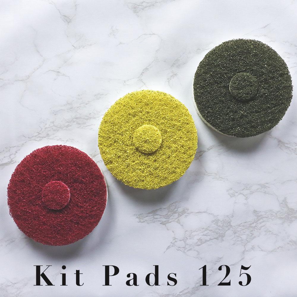Kit Pads Taladro/Pulidora Solo Abrillantado