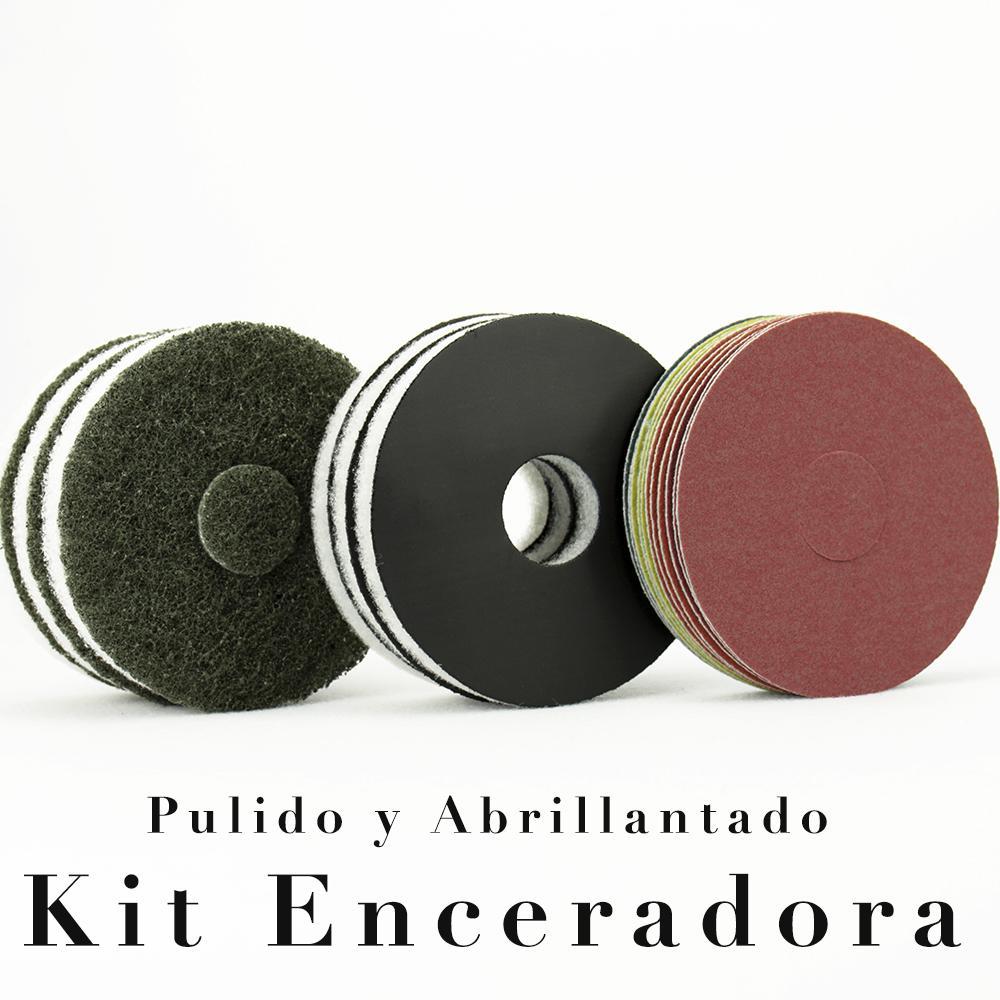 Kit Enceradora 125 Pulido y Abrillantado