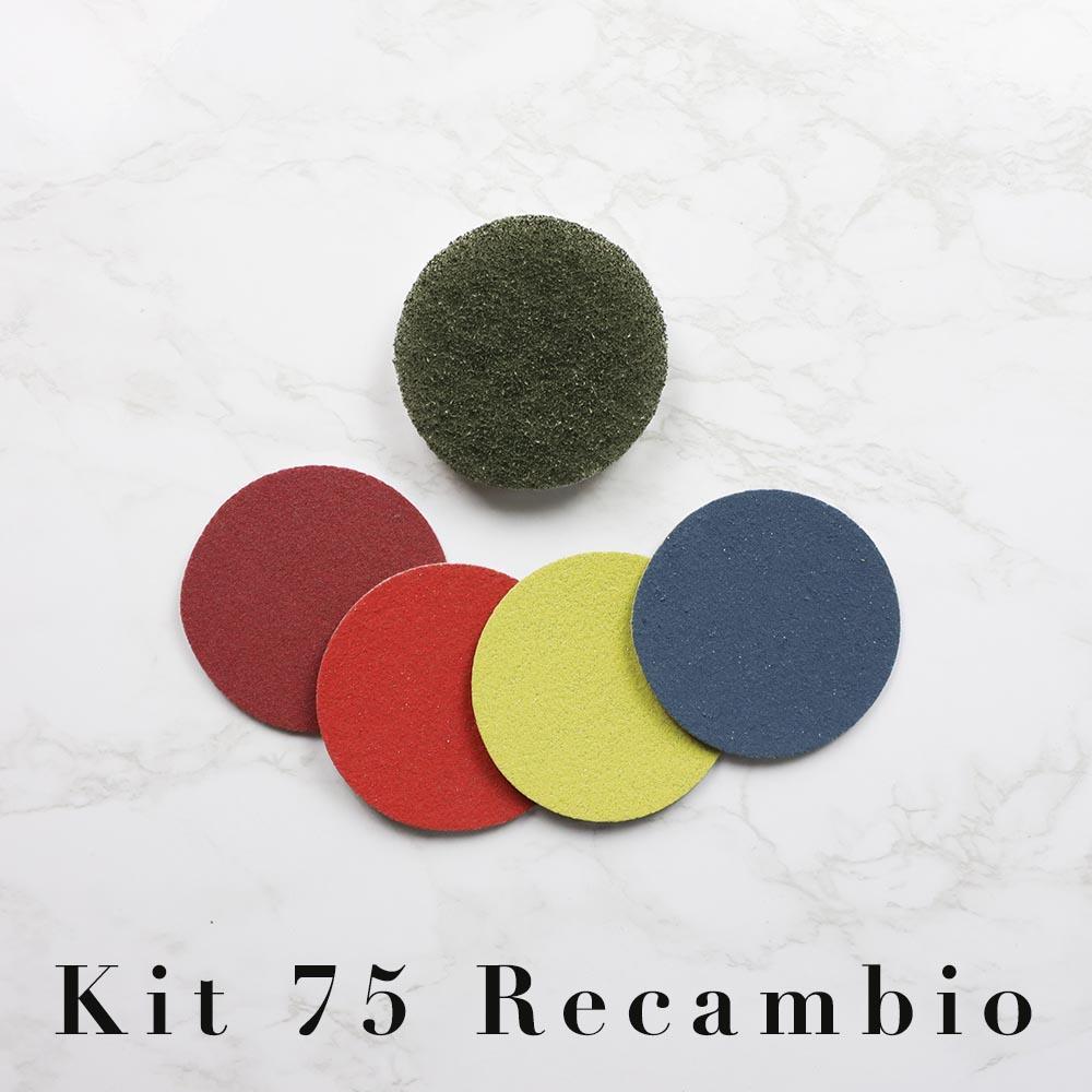 Magic Renova Kit Recambio Taladro 75 sin plato mármol y terrazo
