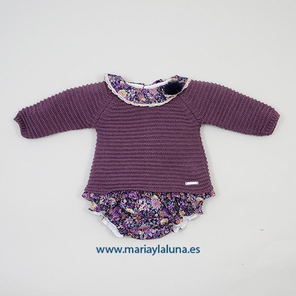 2 Piezas Conjunto Violet Pangasa 3 meses