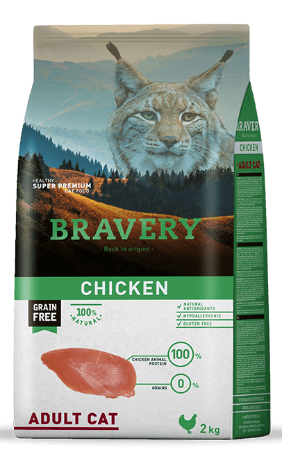 Bravery Adulto Pollo Grain Free
