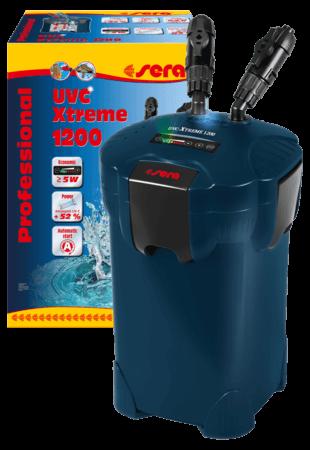 SERA Filtro Exterior Profesional UVC Xtreme 1200