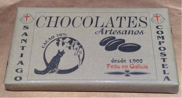 CHOCOLATES RAPOSO CHOCOLATE RAPOSO PURO 70% CACAO
