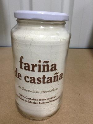 AMARELANTE HARINA DE CASTAÑA GALEGA
