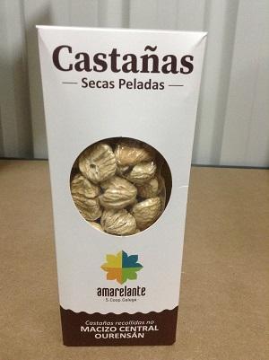 AMARELANTE CASTAÑA SECA PELADA