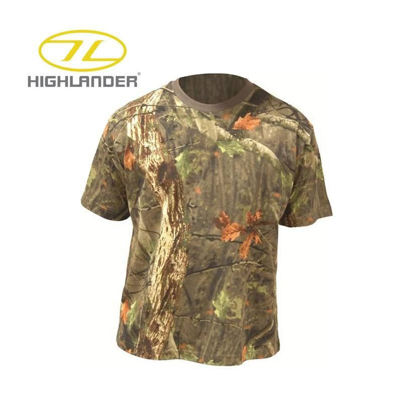 HIGHLANDER Camiseta de manga corta Tree Deep