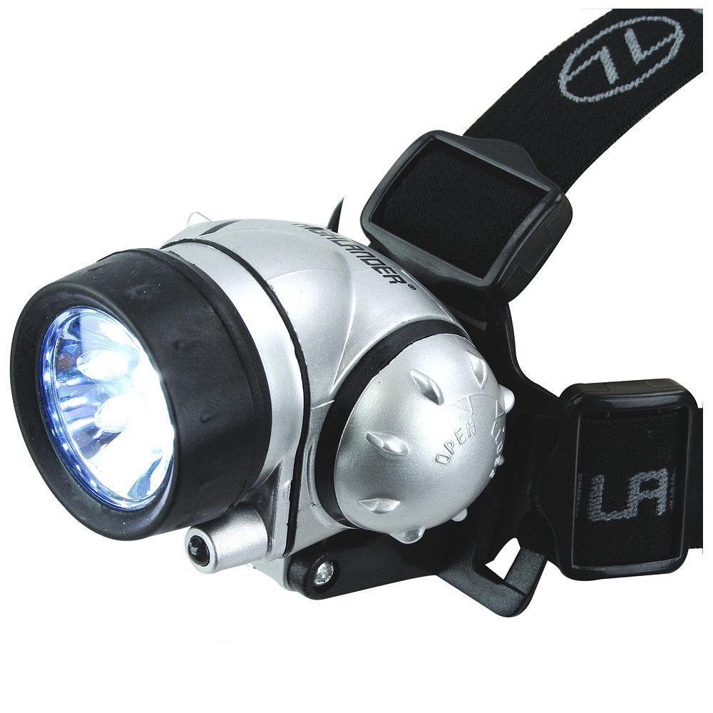 HIGHLANDER Linterna frontal Capella,12 leds