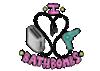 Detalle Camiseta oversize rosa Bathbombs de Orikami