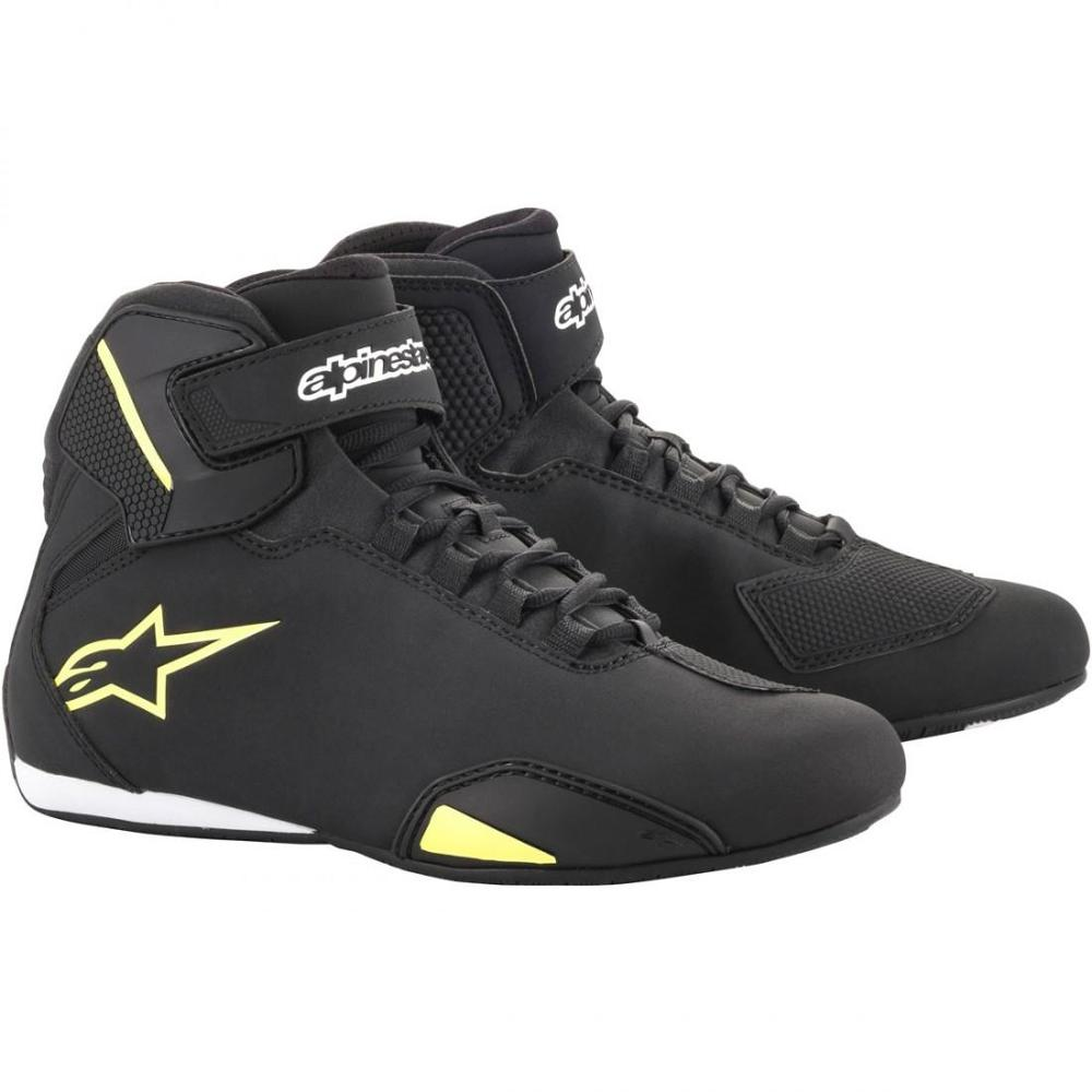 ALPINESTARS Botas Sektor Black Yellow Fluor