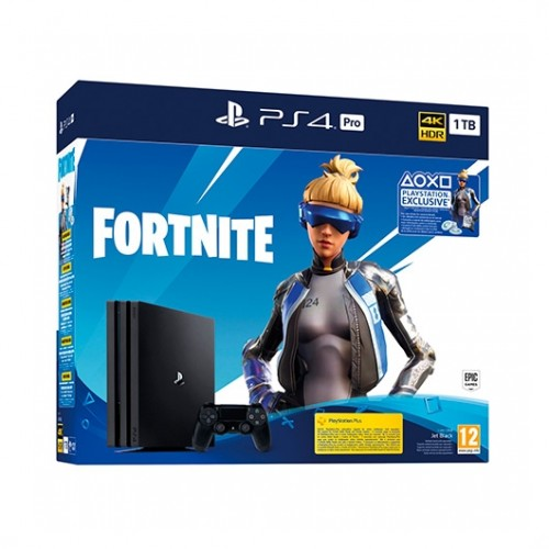 SONY PS4 PlayStation4 PRO 1TB + Fortnite