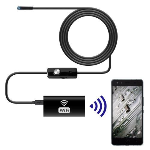 UNOTEC Cámara Endoscópica 2M WiFi para Smartphones y PC
