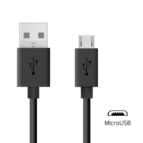 UNOTEC Cable USB a MicroUSB Negro