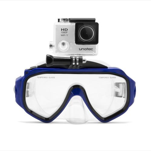 UNOTEC Gafas de Buceo para Cámaras Deportivas Xiaomi Yi y GoPro