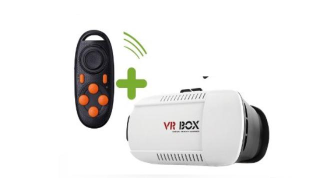VR BOX Gafas de Realidad Virtual para Smartphones de 4.7 - 6.0 Pulgadas
