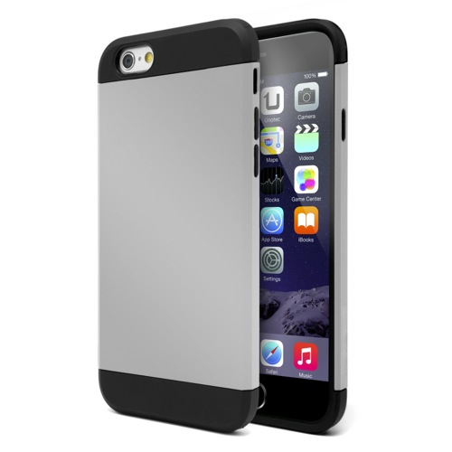 UNOTEC Funda Armor iPhone 6 Gris
