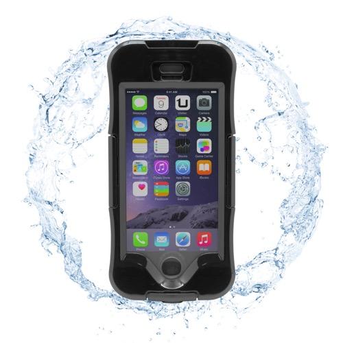 UNOTEC Funda Waterproof para iPhone 6/6S Negra