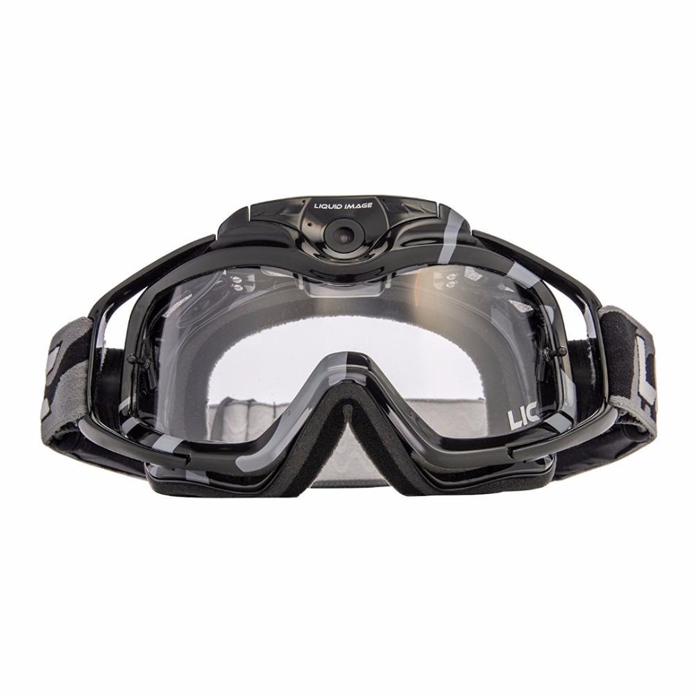 LIQUID IMAGE 369 Torque HD+ Gafas Race/Esqui con Cámara 12MP Negro