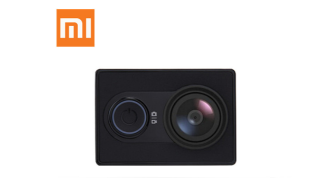 XIAOMI YI Action Videocámara Deportiva 16MP Full HD 1080p Negro