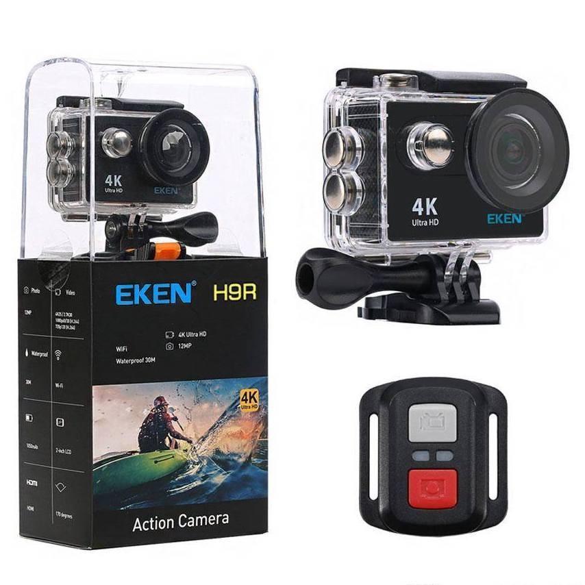 EKEN H9R Ultra HD 4K Camara Deportiva WiFi con LCD y Mando