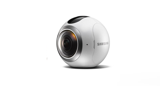 SAMSUNG Gear 360 Camara Dual HD VR