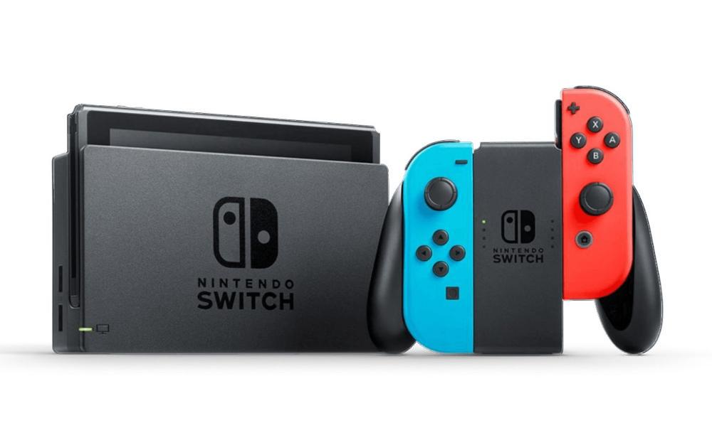 Nintendo Switch Videoconsola Azul/Rojo Neon Modelo Nuevo 2019