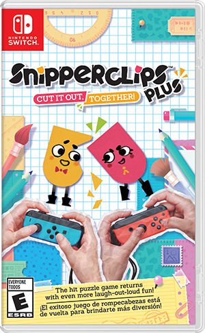 Nintendo SnipperClips Plus para Nintendo Switch