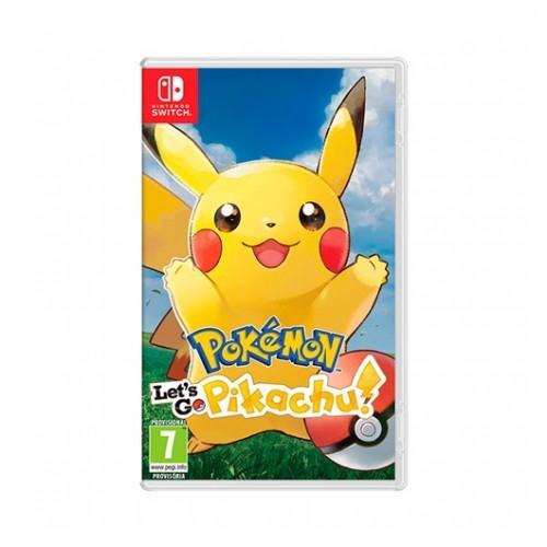 Nintendo Pokemon LetsGo Pikachu para Nintendo Switch